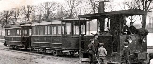 Le tramway du psg traverse le v sinet - Traverse de chemin de fer occasion ...